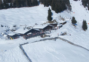 Die Pefferalm im Winter
